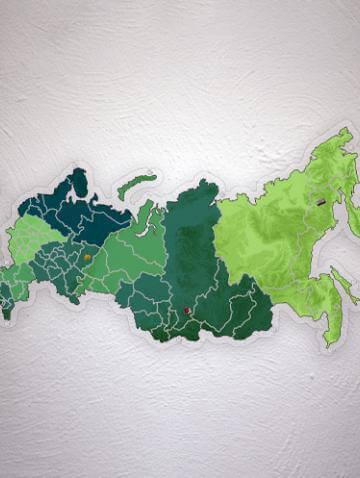 Карта сложной формы