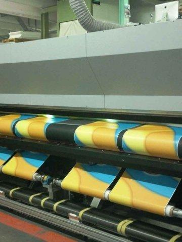 Производство печати на ткани