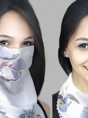 Печать на масках и платках