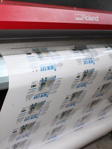 Печатаем наклейки