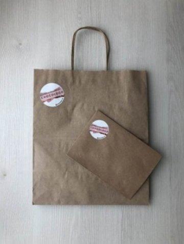 стикер на пакет