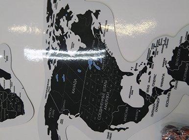 Магнитно-маркерная карта