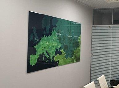 Карта стекло