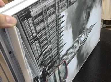 Печать рекламы для световых коробов
