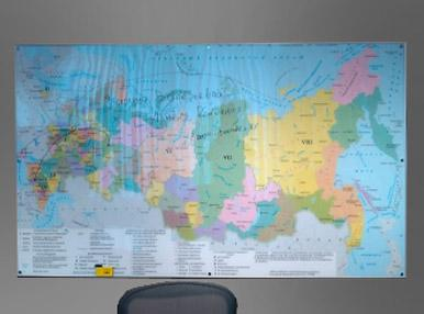 Магнитно-маркерня карта