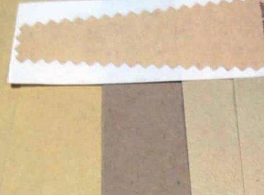 Наклейки на крафт бумаге