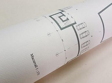 Высокое качество печати чертежей