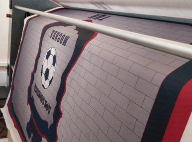 Печать флага на тафете