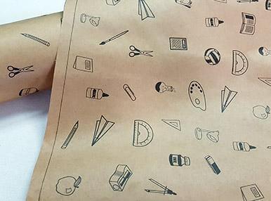 Печать упаковочной бумаги