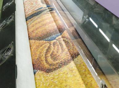 Печать на натуральном холсте 3 метра